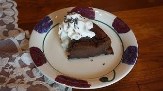 2 raaka-aineen Nutellakakku | 3 raaka-aineen suklaakakku