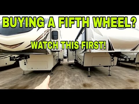 Fifth Wheel Shopping? Watch This First!