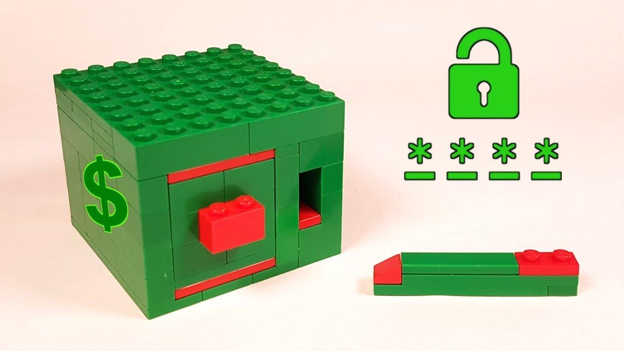 Как сделать из лего сейф с механизмом фото 457