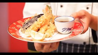 Tempura - How to make.