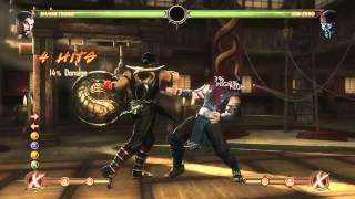 Mortal Kombat 9 - Shang Tsung обучение + комбо