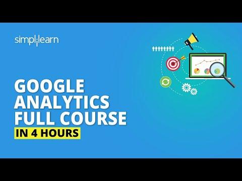 Google Analytics Full Course  [2020]   Google Analytics Tutorial For Beginners   Simplilearn