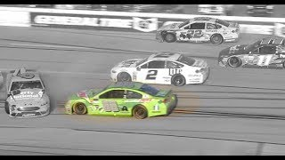 Steer Clear: Watch Dale Jr. deftly avoid Talladega wrecks