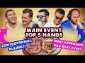 2019 WSOP Main Event Top 5 Hands | World Series of Poker