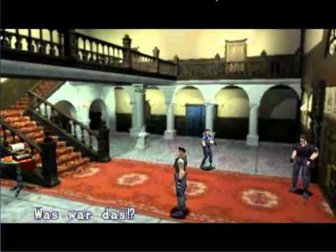 lets play resident evil 1 [german] part 1 - herrenhaus des, Esszimmer dekoo