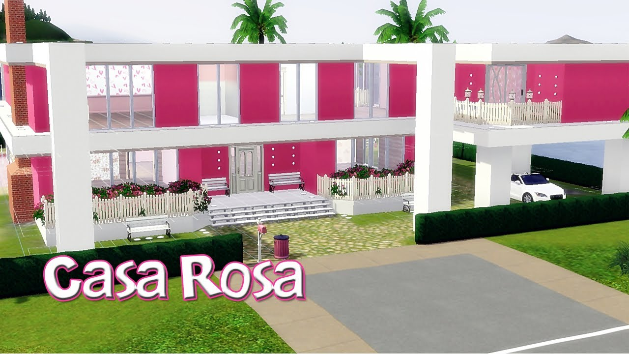 The Sims 3  Casa Rosa  YouTube