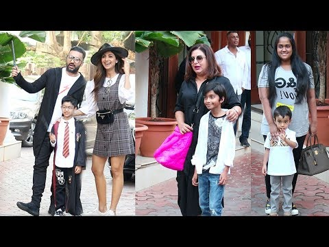 Bollywood Celebs With Thier Kids ATTEND Shilpa Shetty's Son Viaan's Birthday Party 2019