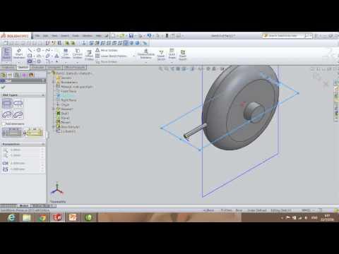 5401002630107 SolidWorks HW06 ใบพัดลมเพดาน