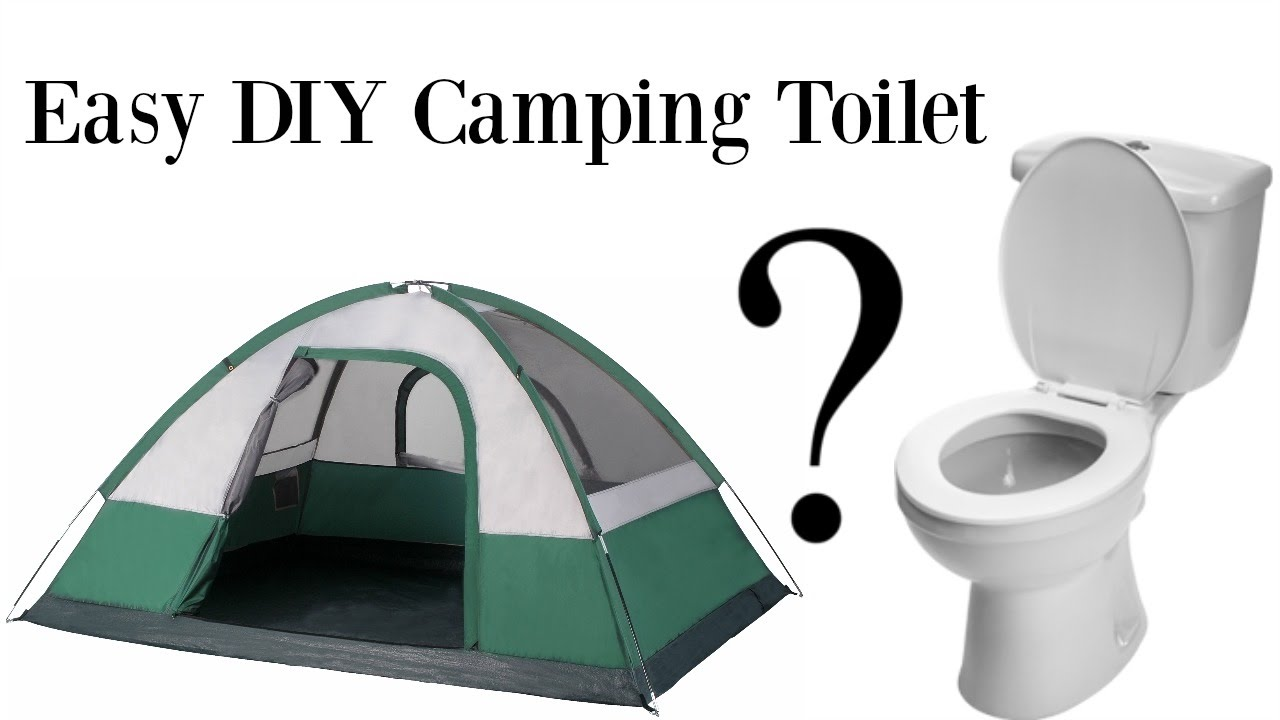Easy Diy Camping Toilet For Under