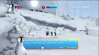 Happy Feet 2 - second level gameplay - gram.pl