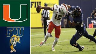 Miami vs FIU 2019 College Football Highlights