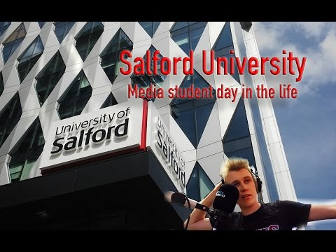 Ep.79 | Salford University media student day in the life