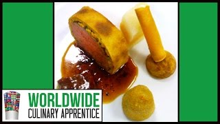 How To Make A  Potato Crust - Potato Crusted Beef Filet - Potato Wrapper - Cooking Classes