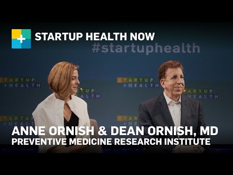 Fireside Chat: Dean Ornish, MD, & Anne Ornish, Preventative Medicine Research Institute #222