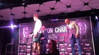 Charlo & Harrison Head Butt At Presser Intense Argument