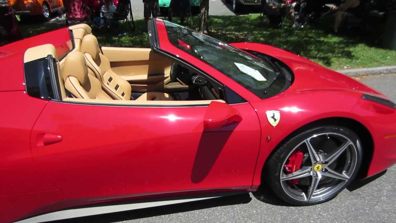 our new 2013 ferrari 458 spider youtube. Black Bedroom Furniture Sets. Home Design Ideas