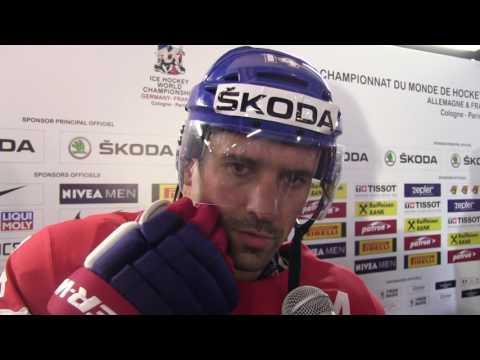 Tomáš Plekanec po čtvrtfinále Rusko – Česko 3:0