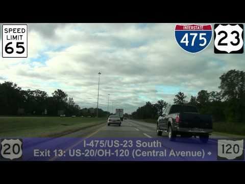 I-475 West: Toledo, OH