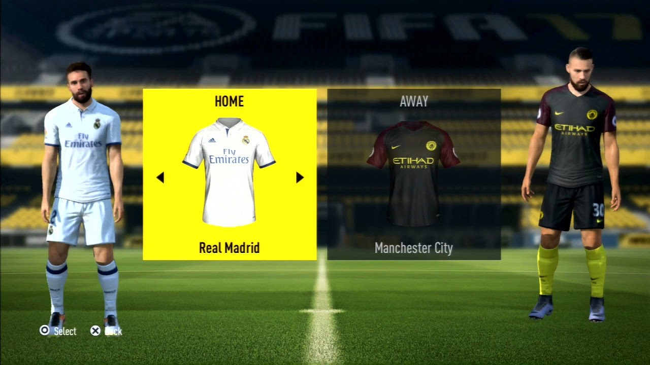 fifa 17 real madrid vs manchester city 1 2 gameplay ps3 hd. Black Bedroom Furniture Sets. Home Design Ideas