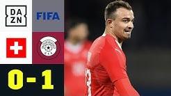Katar blamiert Xherdan Shaqiri und die Nati: Schweiz - Katar 0:1 | Testspiel | DAZN Highlights
