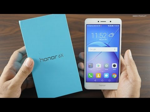 Honor 6X Unboxing & Overview Camera Centric Smartphone