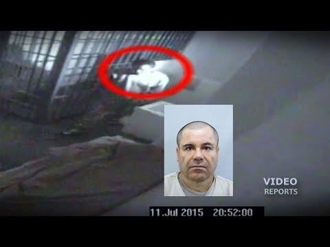 Video muestra el momento en que El Chapo escapa; no estaba rapado