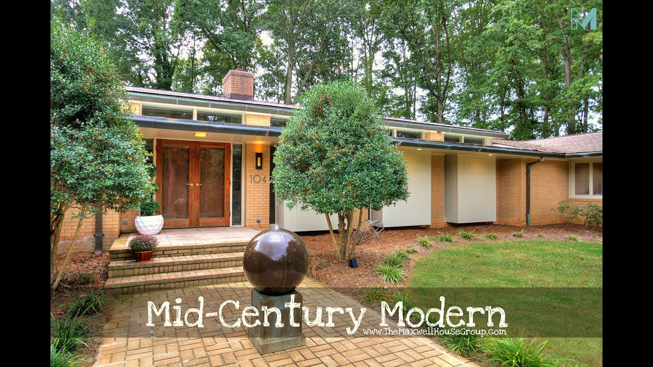 New Price 5 000 Sf Mid Century Modern Home On 6 Acre Lot Fabulous Houses For Sale In Charlotte Nc Modern backyard matthews nc
