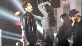 [FANCAM] 141025 Trouble Maker @ MBC Korean Music Wave In Beijing 2014
