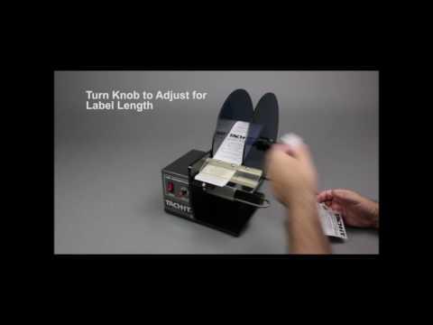 Tach-It YSH-404TR Premium Semi Automatic Label Dispenser Applicator Machine