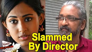 Kohinoor Malayalam Movie Actress Aparna Vinod Slammed By Director