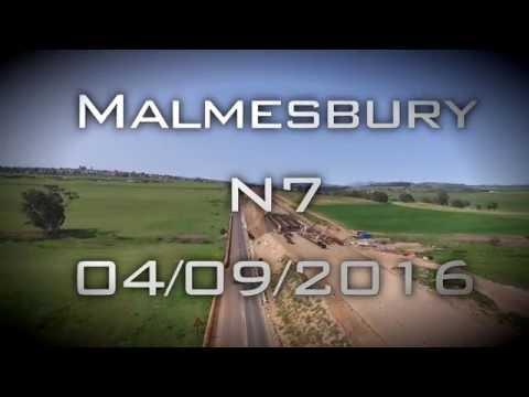 Malmesbury N7 Roadworks