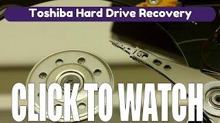 Toshiba Hard Drive Data Recovery