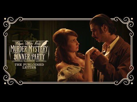 Edgar Allan Poe's Murder Mystery Dinner Party Ch. 3: The Purloined Letter
