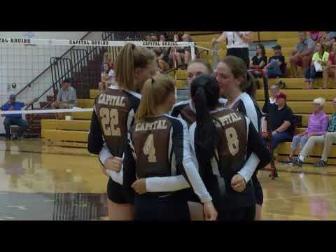 SWX Montana Capital vs. Bozeman Volleyball 8-29-17