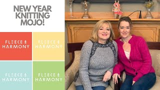 """Fleece & Harmony Knitting Podcast Ep. 63 - What do we knit now?!? Too old for """"fancy""""?"""