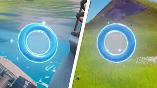 Collect Floating Rings at Pleasant Park All Locations - Fortnite