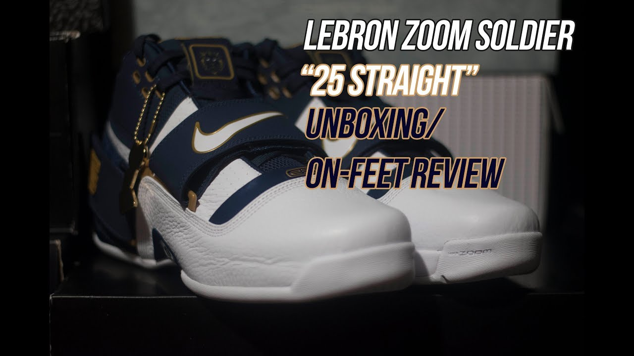 3a8c83d8ec0 Lebron Zoom Soldier Art of a Champion  25 Straight
