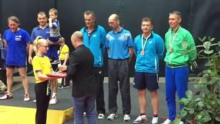 Award Men's Doubles EVC2017