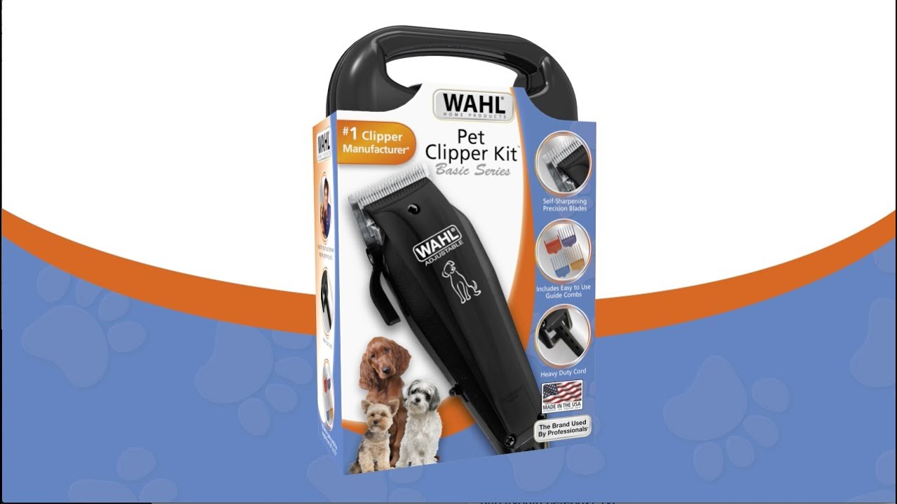 Wahl Basic Series Pet Clipper 9160 210 Youtube Classic 1 Usa