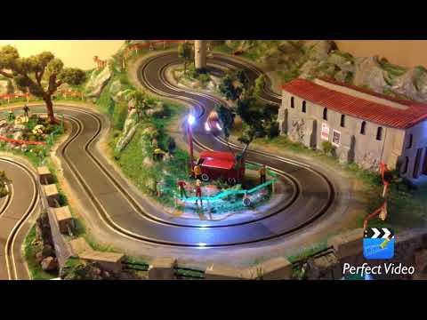 Rallye du var 2017 slot carrera go 1/43 by makk83 (rally slot carrera scx maquette diorama)