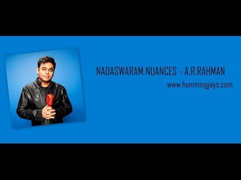 NADASWARAM NUANCES - A.R.RAHMAN - HUMMINGJAYS.com