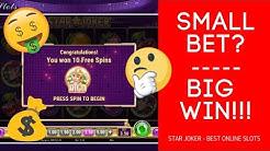SMALL BET BIG WIN! ► Best Online Slots 🥇 Star Joker 🃏