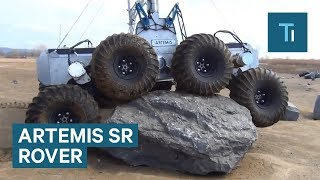 8-Wheeled Rover Is Built For Space