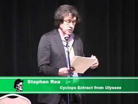 James Joyce Steven Rea