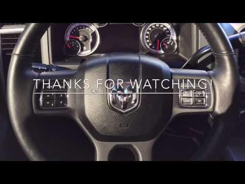 Turn Off Seatbelt Chime - RAM Trucks 2009-2017