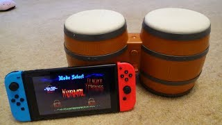 Donkey Kong Bongos working on the Nintendo Switch