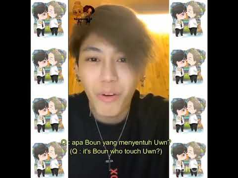 [ENG/INDO] Boun's Instagram Live