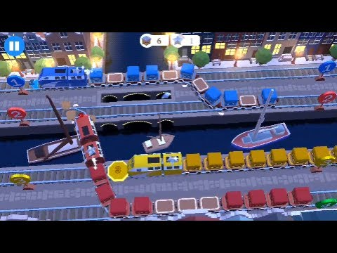 Train Conductor World by Nick Trick & Game (EPIC DIESEL TRAIN) - AMSTERDAM # FREESTYLE
