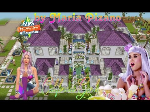 La Masion De Katy Perry California Gurls by Maria Pizano  the sims freeplay