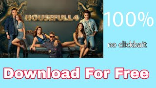 HOW TO DOWNLOAD HOUSEFULL 4 FULL MOVIE | NITRO GAMING XD